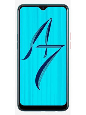 Front View of Oppo A7