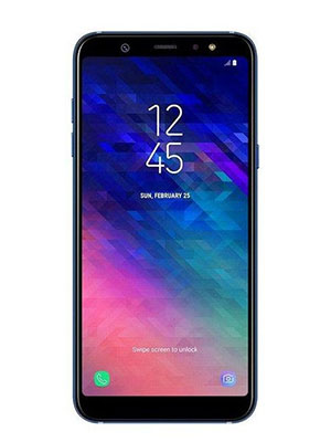 Front View of Samsung Galaxy A6 Plus