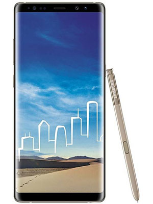 Front View of Samsung Galaxy Note 8