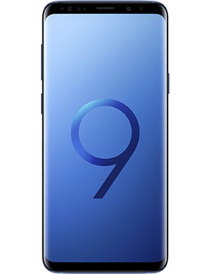 Front View of Samsung Galaxy S9
