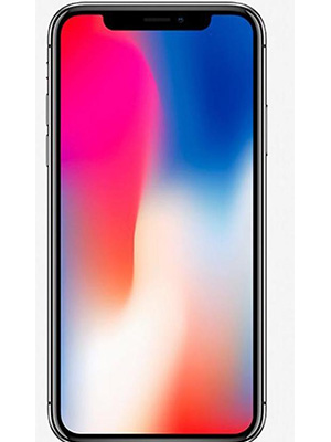 Front view of Apple iPhone X