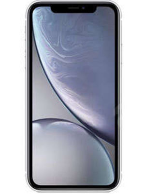 Front view of Apple iPhone XR