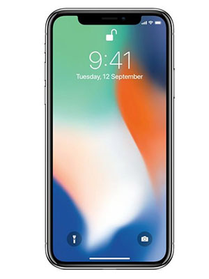 Front view of Apple iPhone XS