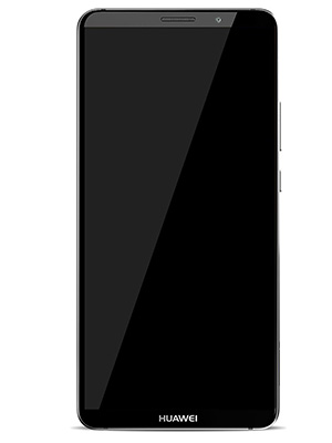 Front view of Huawei Mate 10 Pro