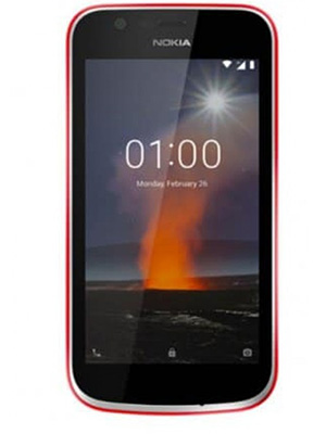Front view of Nokia 1