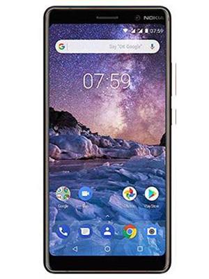 Front view of Nokia 7 Plus