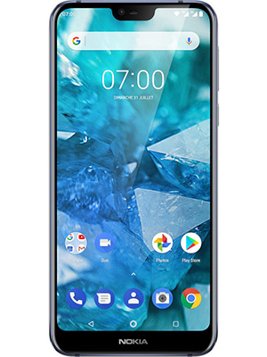Front view of Nokia 7.1