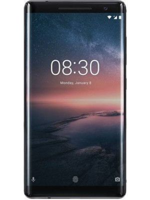 Front view of Nokia 8