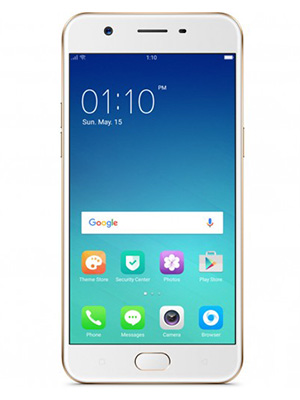 Front view of Oppo A57