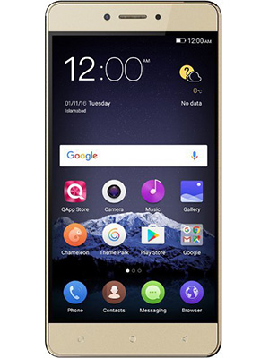 Front view of QMobile King Kong Max