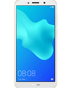Front view of Huawei Y5 Lite