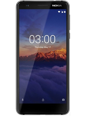 Front view of Nokia 3.1