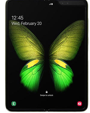 Front View of Samsung Galaxy Fold